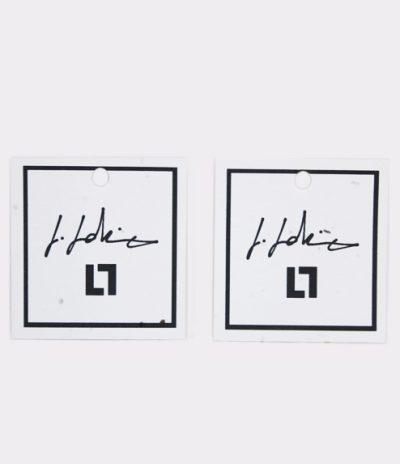 Etichetta in Carta Piantabile Quadrata Personalizzata Fronte