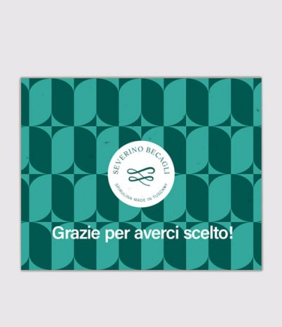 Inviti & Volantini in Carta Piantabile per Progetto Severino Becagli