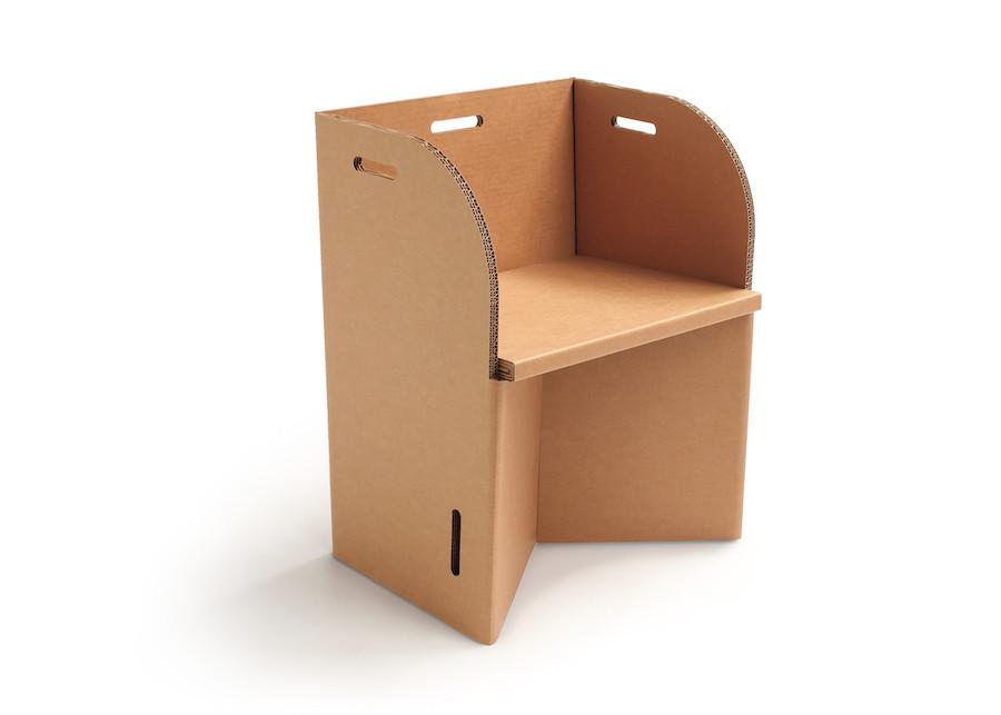 Sedia in cartone sedia ufficio in cartone igreengadgets