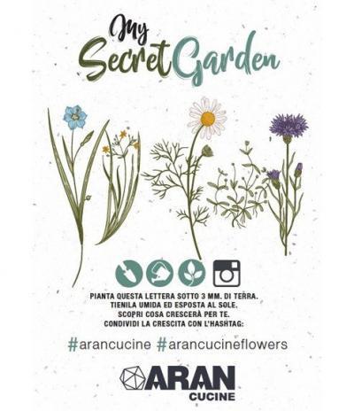 Inviti & Volantini in Carta Piantabile per Aran Cucine Progetto 1