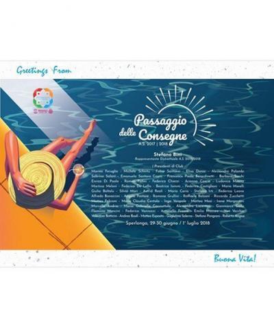 Cartolina Piantabile Fronte per Progetto Rotarc