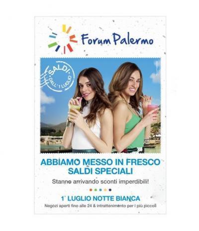 Cartolina Pinatabile | Progetto Forum Palermo