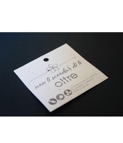 Etichetta in Carta Piantabile per Progetto Miroglio