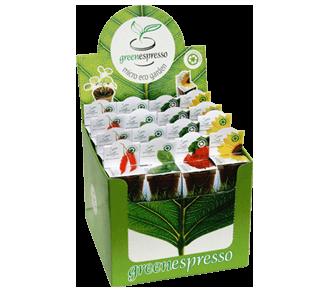 Green Espresso Box Espositore