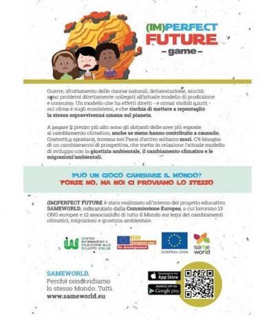 Retro Inviti & Volantini in Carta Piantabile | Progetto Imperfect Future