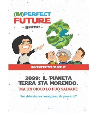 Fronte Inviti & Volantini in Carta Piantabile per Imperfect Future
