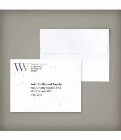 Busta in Carta Piantabile per Progetto Wilwiss & Associates