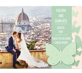 Partecipazioni Matrimonio in Carta Piantabile