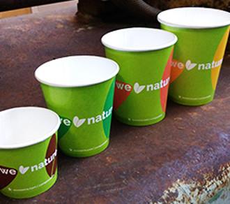 Bicchieri in Carta Biodegradabile