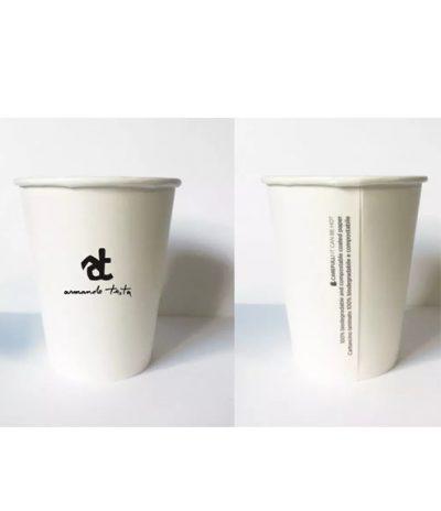 Bicchieri Biodegradabili e Compostabili con Personalizzazione per Armando Testa