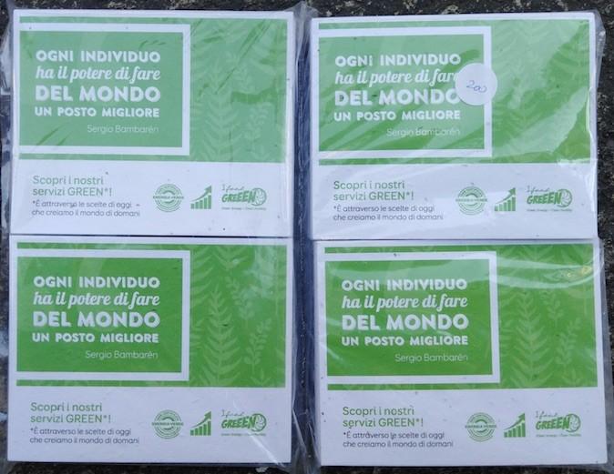 Energia Corrente e le Cartoline piantabili: un'intesa vincente!