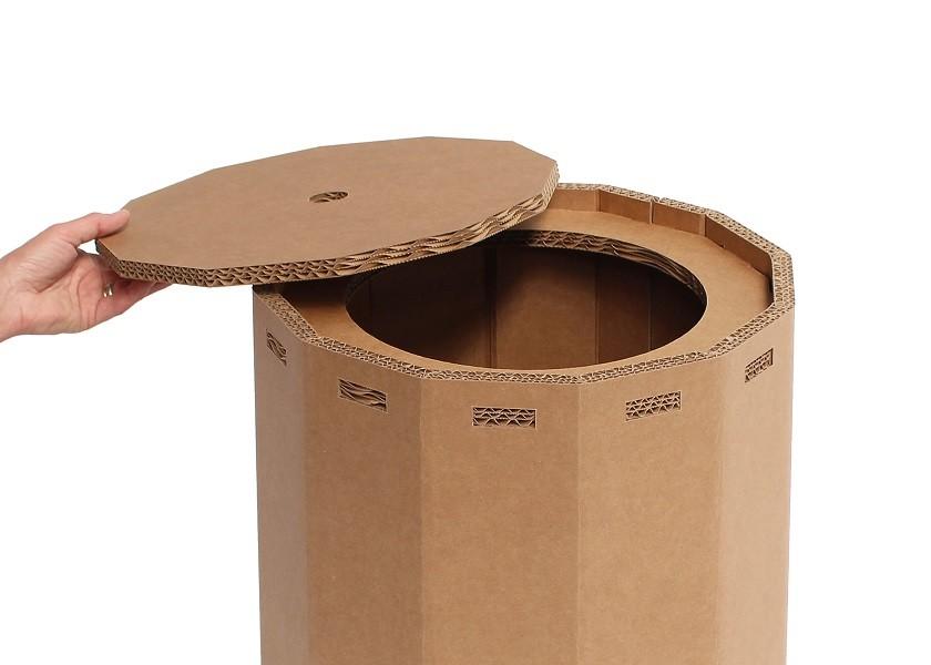Come costruire dei mobili di cartone modulari e fai da te foto e