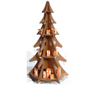 Albero di Natale in Cartone