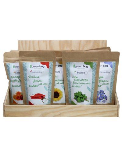 Display iGreen Bag La Busta biodegradabile