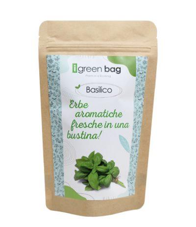 iGreen Bag La Busta biodegradabile con Semi di Basilico