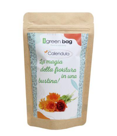 iGreen Bag La Busta biodegradabile con Semi di Calendula