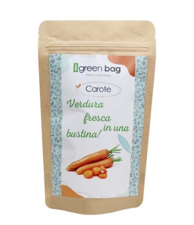 iGreen Bag La Busta biodegradabile con Semi di Carote