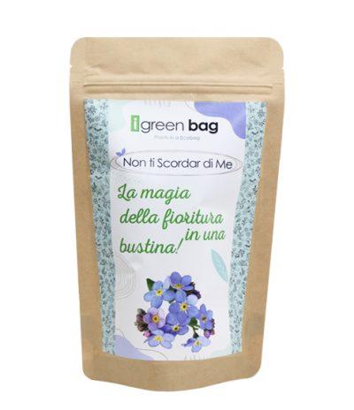 iGreen Bag La Busta biodegradabile con Semi di Non ti Scordar di Me