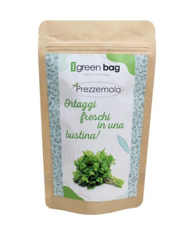 iGreen Bag La Busta biodegradabile con Semi di Prezzemolo