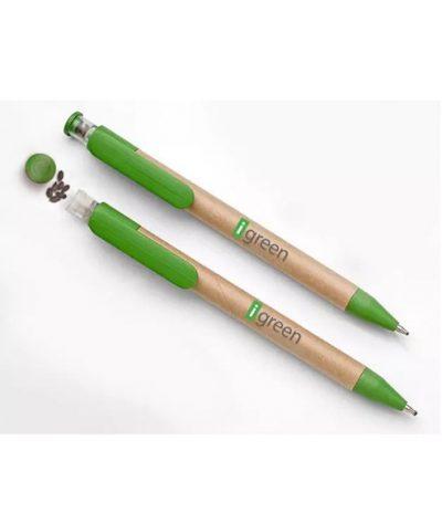 La Penna con Semi Piantabile Personalizzata con Tampografia per iGreen Gadgets