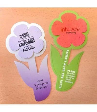 Fiore in Carta Piantabile con Mix di Fiori di Campo Esempio 4