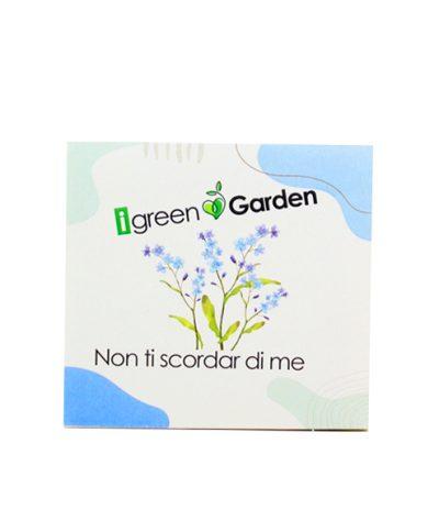 Giardini Tascabili Instant Garden Packaging Standard Seme Non Ti Scordar di Me