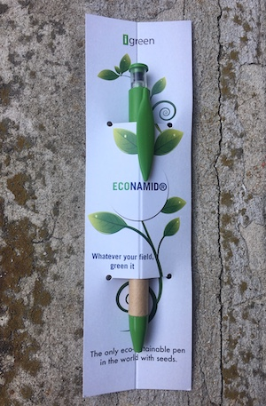 La Penna con Semi di iGreenGadgets personalizzata per Domo Chemicals