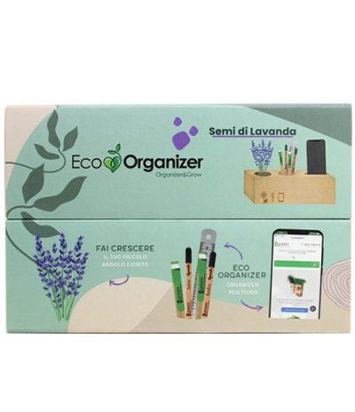 Eco Organizer Porta Penne/Matite & Appoggia Telefono con Lavanda
