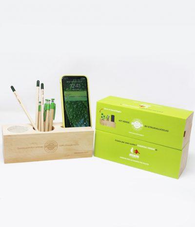 Eco Organizer Porta Penne/Matite & Appoggia Telefono per Etruria