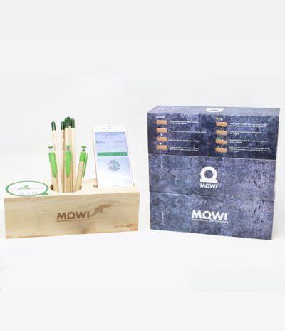Eco Organizer Porta Penne/Matite & Appoggia Telefono per Mowi