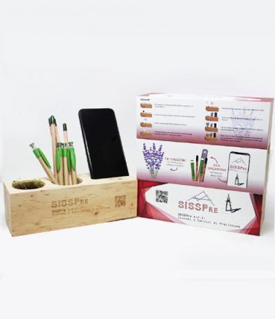 Eco Organizer Porta Penne/Matite & Appoggia Telefono per SISS PRE