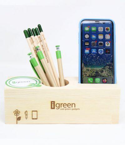 Eco Organizer Porta Penne/Matite & Appoggia Telefono Versione Standard