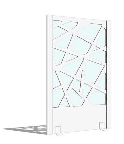 Pannelli Divisori Autoportanti Colore Bianco immagine 1