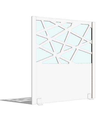 Pannelli Divisori Autoportanti Colore Bianco immagine 4