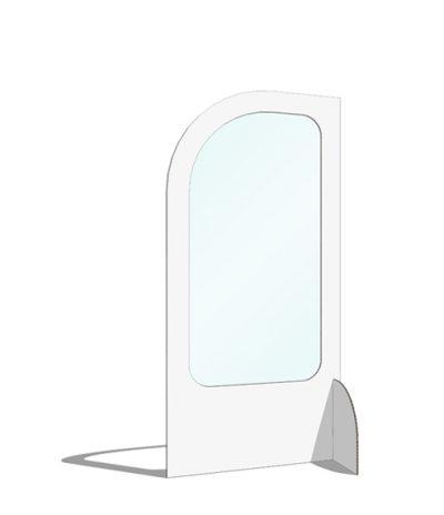 Divisori per Sale d'Attesa Semplice Colore Bianco