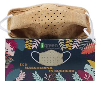 Mascherina Ecosostenibile in Sughero