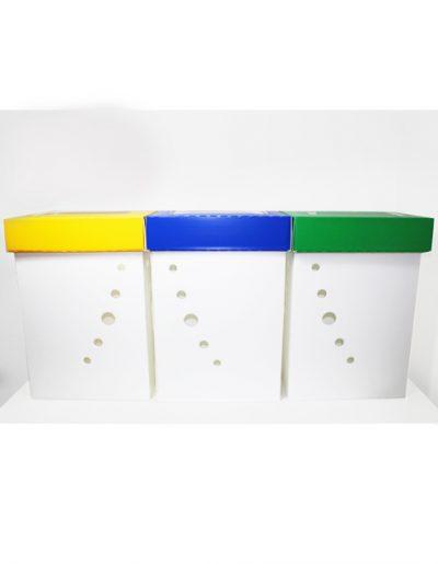 Eco Light Contenitori Raccolta Differenziata per Uffici & Scuole Mono Raccolta
