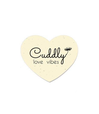 Formina Cuore in Carta Piantabile per Cuddly