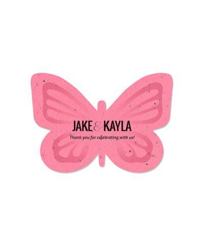 Formina Foglia in Carta Piantabile per Jake & Kayla