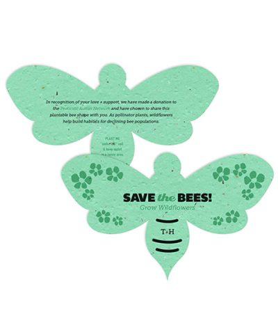 Ape in Carta Piantabile Verde