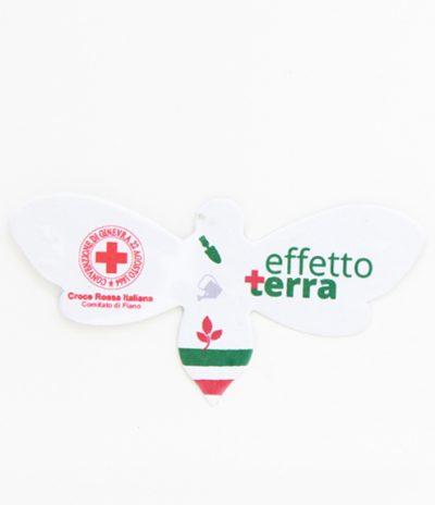 Ape in Carta Piantabile con Personalizzazione per Croce Rossa